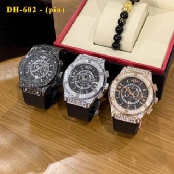 [Hublot đôi - nam nữ] Đồng hồ Hublot nam nữ - đồng hồ cặp đôi hàng đẹp - bảo hành 12th bán chạy