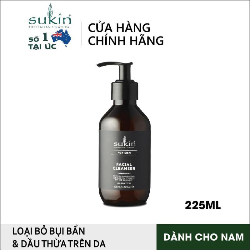 Sữa rửa mặt dành cho nam Sukin For Men Facial Cleanser 225ml