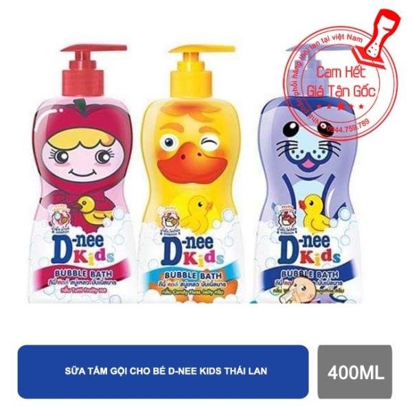 Sữa tắm gội Dnee Kids Bubble Bath cho trẻ trên 3 tuổi giá rẻ
