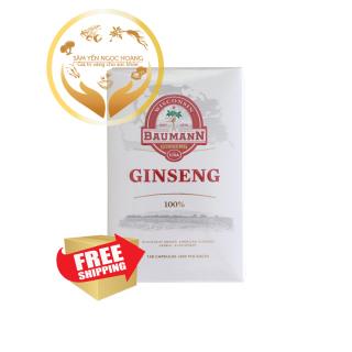 Sâm Viên Mỹ Baumann Wisconsin - 100% Wiscosin Ginseng Farm 1 Chai x 130 Viên thumbnail