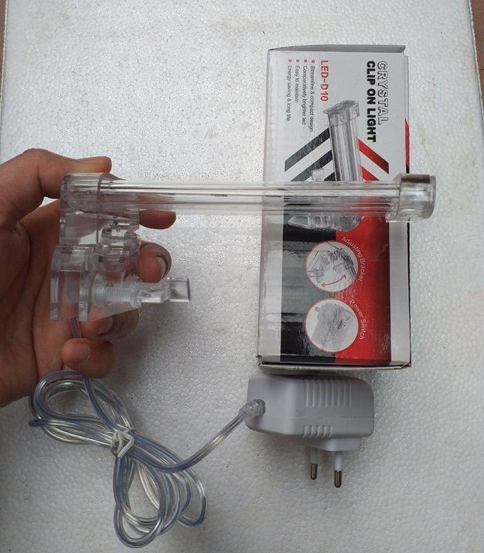 Đèn led thủy sinh 4W D10 cho bể cá mini