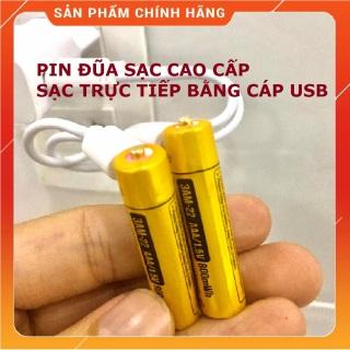 Vỉ 2 viên Pin đũa sạc AAA Beston 1.5V cao cấp Dung lượng cao Sạc nhanh trực tiếp bằng cổng micro USB Pin sạc 3A cao cấp thumbnail