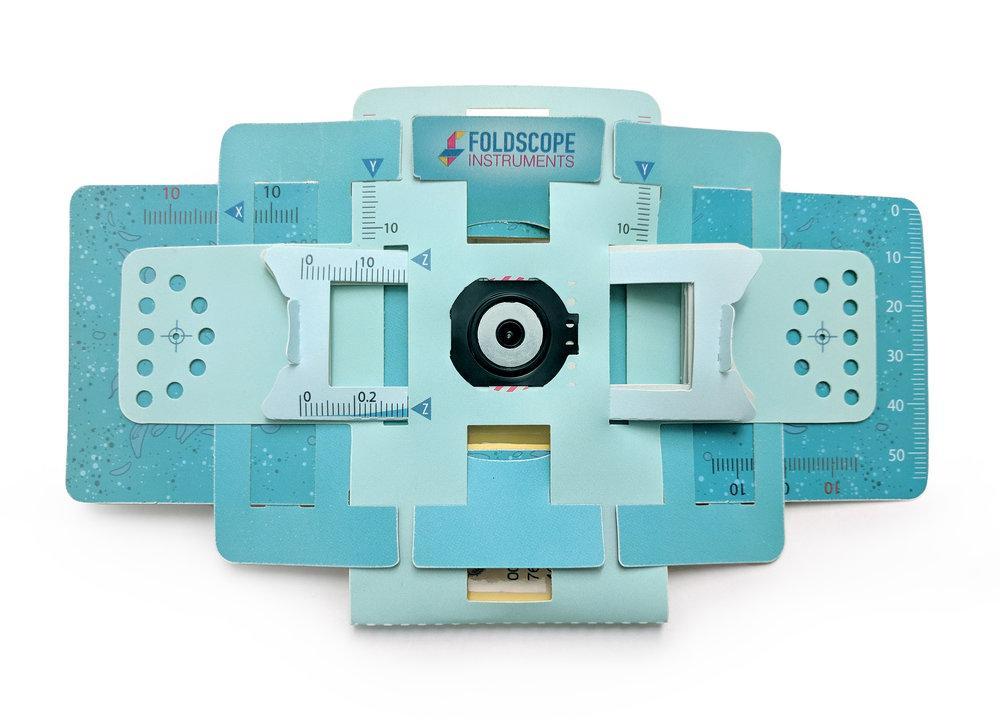 Lazada Giảm Giá Khi Mua Bộ Kính Hiển Vi Bằng Giấy (Foldscope Basic)