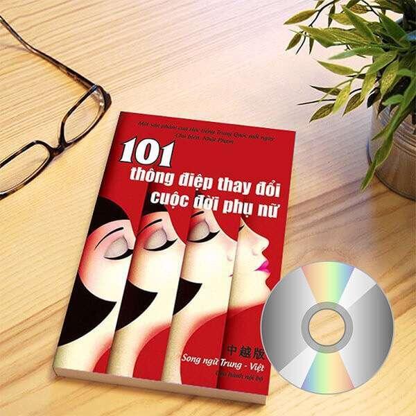 Mua 101 Thông Điệp Thay Đổi Cuộc Đời Phụ Nữ (Trung – Pinyin – Việt) (Có Audio) + quà tặng