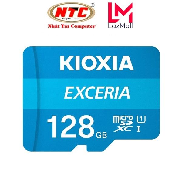 Thẻ nhớ MicroSDXC Kioxia Exceria 128GB UHS-I U1 100MB/s - Formerly Toshiba Memory (Xanh) - Nhat Tin Certified Store