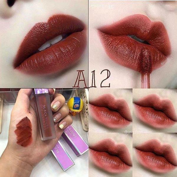 Son Kem Lì Black Rouge Air Fit Velvet Tint A06/A12/A15