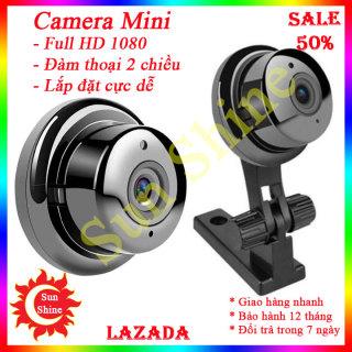 Camera mini siêu nhỏ, Camera wifi, Camera giám sát, Camera, Máy quay mini đàm thoại 2 chiều, lắp đặt dễ dàng thumbnail