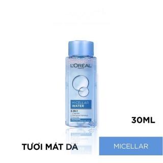 [Minisize 30ml] Nước Tẩy Trang L Oreal Tươi Mát Cho Da Dầu, Hỗn Hợp Micellar Water 3-in-1 Refreshing Even For Sensitive Skin 30ml thumbnail