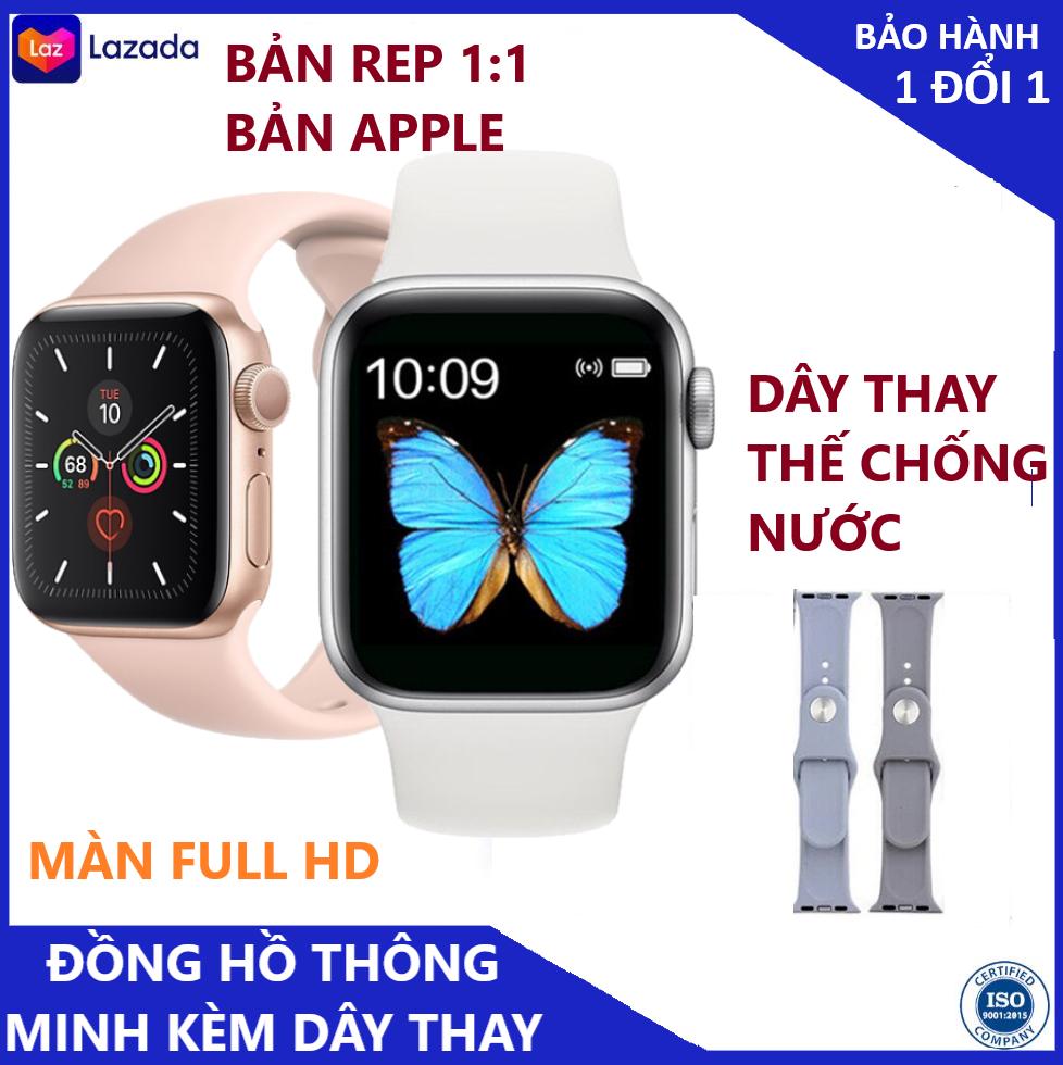 (THAY HÌNH NỀN - CHỐNG NƯỚC) - ĐỒNG HỒ THÔNG MINH T500 Smart Watch seri 5,Kết nối BIuetooth, hiển thị thông minh kỹ thuật số, theo dõi sức khỏe, Nghe gọi trực tiếp-Tặng kèm dây sạc -BẢO HÀNH 12 THÁNG