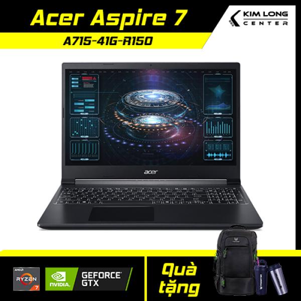Bảng giá [GÓI BẢO HÀNH VIP + ĐỔI TRẢ 15 NGÀY]Laptop Gaming Acer Aspire 7 A715-41G-R150 (NH.Q8SSV.004) : R7-3750H | 8GB RAM | 512GB SSD | RX Vega 10 Graphics + Geforce GTX 1650Ti 4GB | 15.6 FHD IPS | WIN 10 | Black Phong Vũ