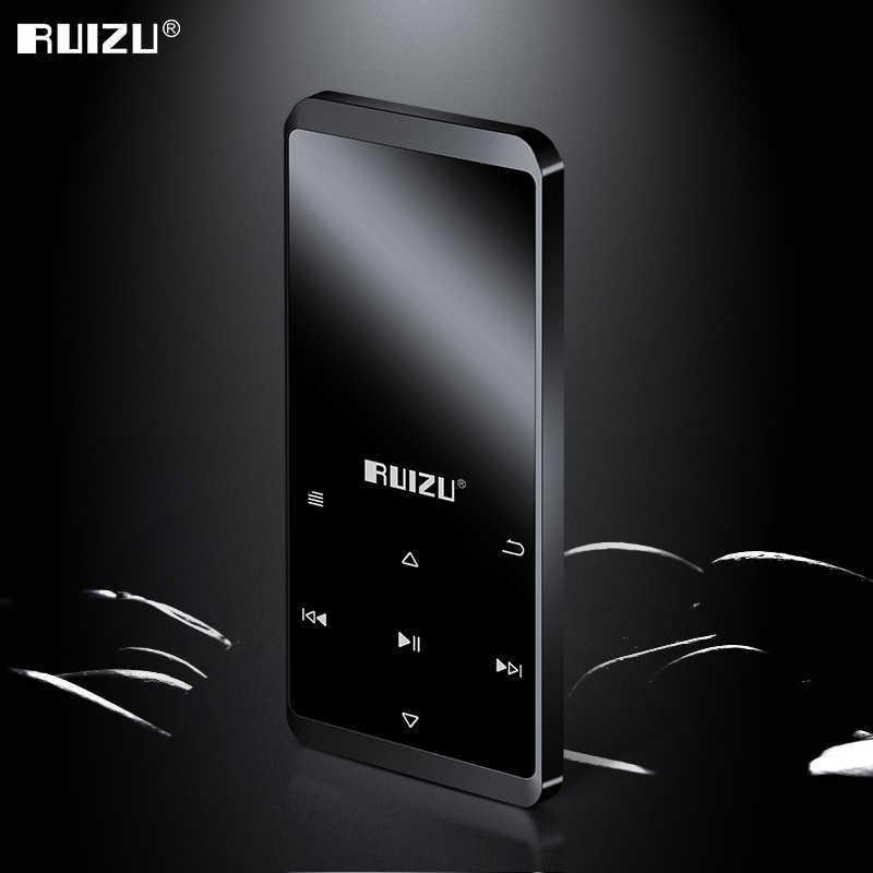 Máy nghe nhạc MP3/Lossless có Bluetooth, loa ngoài | RUIZU D02
