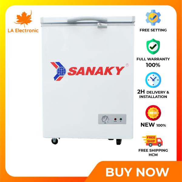 Trả Góp 0% - Tủ đông Sanaky 100 Lít VH-1599HY - Miễn phí vận chuyển HCM