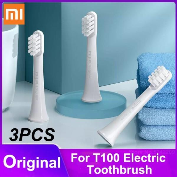 Đầu bàn chải Xiaomi T100 - Đầu thay thế cho bàn chải T100 bộ 3 chiếc Mijia Regular sản phẩm tốt chất lượng cao cam kết như hình độ bền cao