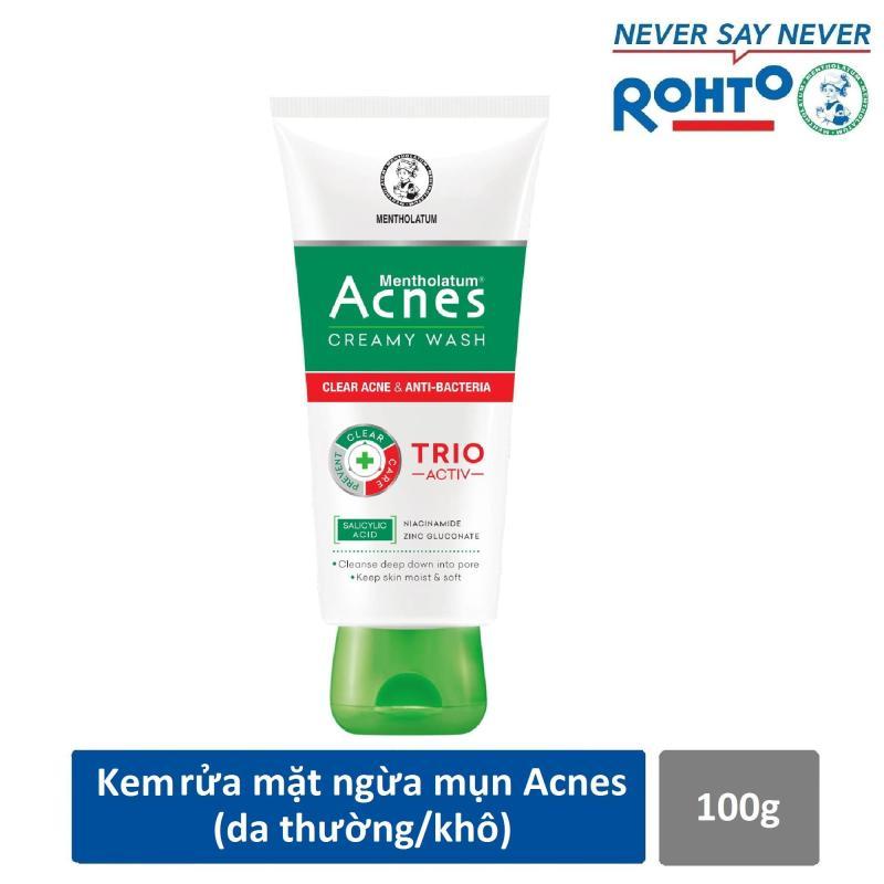 Combo 01 tuýp Gel ngừa mụn Acnes 100g+ 01 lược chảy tóc