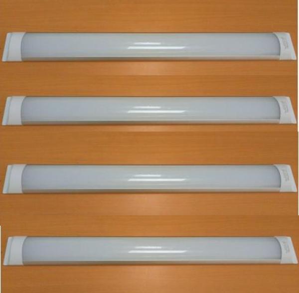 Bộ 4 đèn led Tuýp bán nguyệt 23w 0.6m