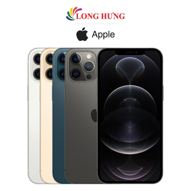 Điện thoại Apple iPhone 12 Pro Max 256GB (VN/A) - Hàng chính hãng - Màn hình 6.7inch Super Retina XDR bộ 3 Camera sau Pin 3687mAh hỗ trợ sạc nhanh