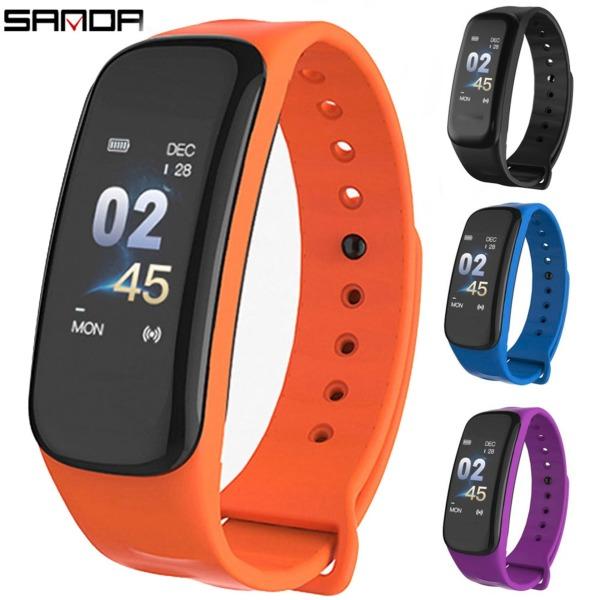 Giá Vòng tay thông minh SANDA C1 theo dõi sức khỏe thể thao giấc ngủ nhịp tim smart band wearfit