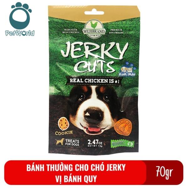Bánh thưởng cho chó Jerky 70gr - Vị bánh quy