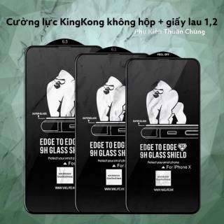 [HCM]Miếng dán kính cường Lực iphone 3D WK KingKong (KHÔNG HỘP) dành cho Iphone 6 6Plus 6s 6sPlus 7 7Plus 8 8 Plus X Xs Xr XsMax ip11 ip11 pro ip 11promax,12,12 pro,12promax thumbnail