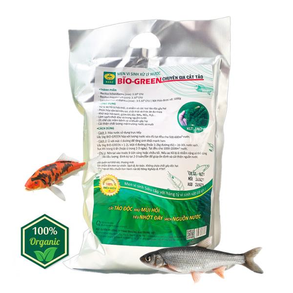Chế phẩm vi sinh Cắt Tảo - Xử lý nước ao hồ nuôi Cá Tôm bị ô nhiễm hôi thối - Phân hủy cặn bã dư thừa - Làm trong, sạch nguồn nước, giảm độ đục - Sản phẩm sạch, lên mên 100% tự nhiên