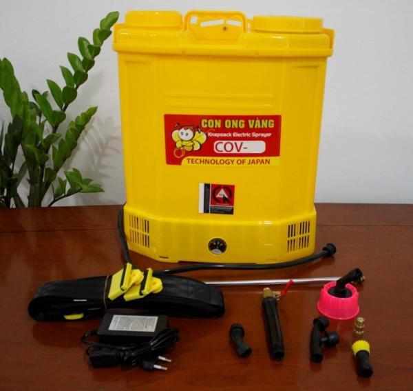 Bình xịt điện 20 lít con ong vàng COV 20D - Bình Xịt côn trùng giá rẻ