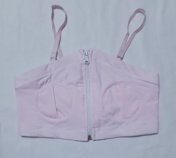 Giá Cực Tốt Để Sắm Áo Hút Sữa Rảnh Tay Cotton VN(màu Hồng)có Dây
