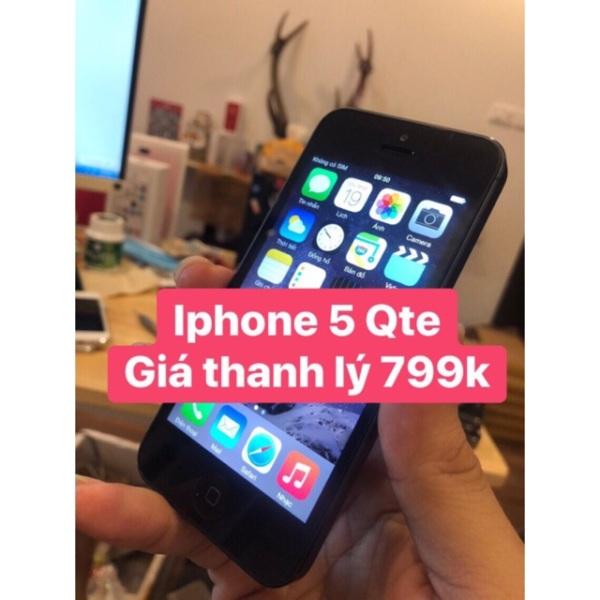 [IPhone 5] Điện Thoại IP5 Qte bộ nhớ 16G/32G/64G - chính hãng Apple, bảo hành 12 tháng - duongbimbimm