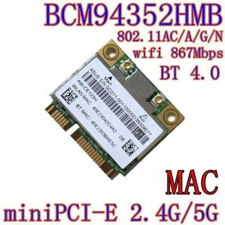 Card WiFi Laptop BCM94352HMB DW1550 thumbnail