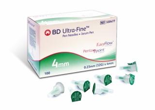 Đầu kim tiêm chích tiểu đường Pen Needles BD ULTRA-FINE 32GX4MM - 320477 (Kim bánh ú) thumbnail
