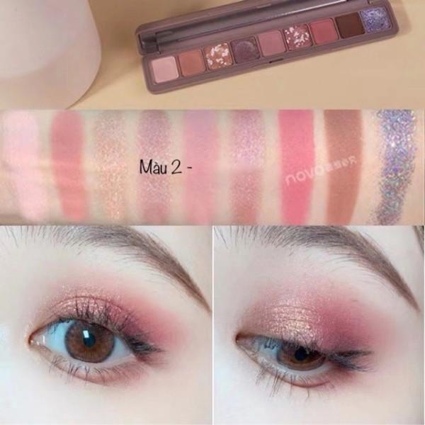 Bảng Mắt Novo Dẹp 9 Ô Soft Eye Shadow Smooth Texture - SHTP052