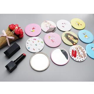 Combo 3 Gương tròn mini trang điểm, gương bỏ túi phong cách Hàn Quốc tiện dụng thumbnail