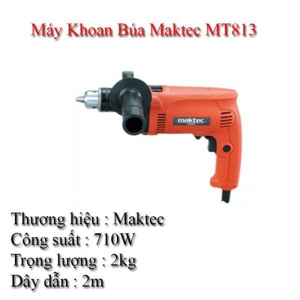 Máy khoan búa Maktec MT80A 500W