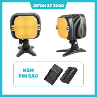 Đèn Led Video Zifon ZF3000 kèm Pin Sạc thumbnail
