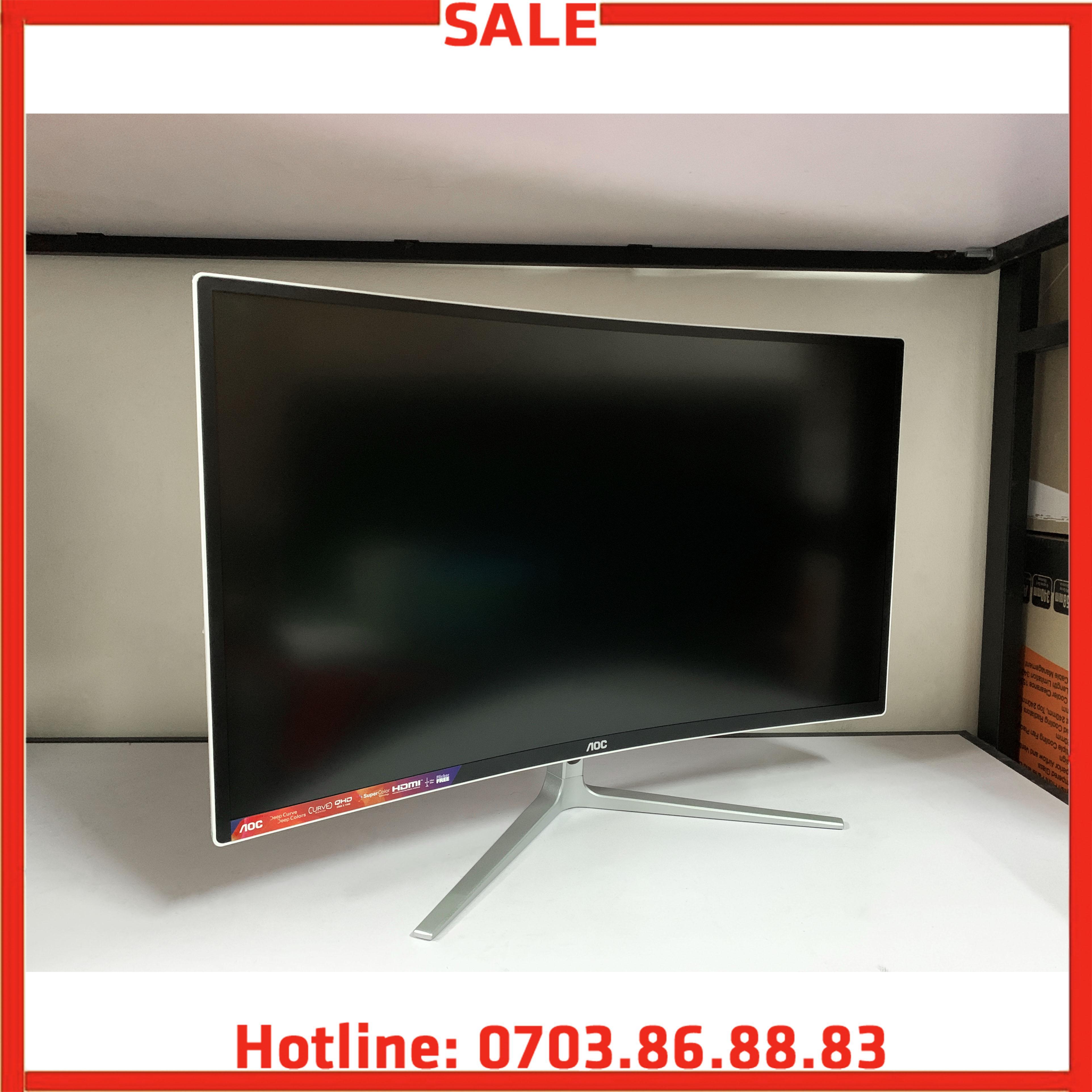 Giá Màn hình máy tính 32inch 2k Cong Veo AOC 3208VWQ5 New Full Box