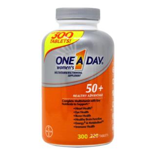 One A Day Viên Uống Bổ Sung Vitamin Tổng Hợp Cho Nữ 50+ 300 Viên Của Mỹ thumbnail
