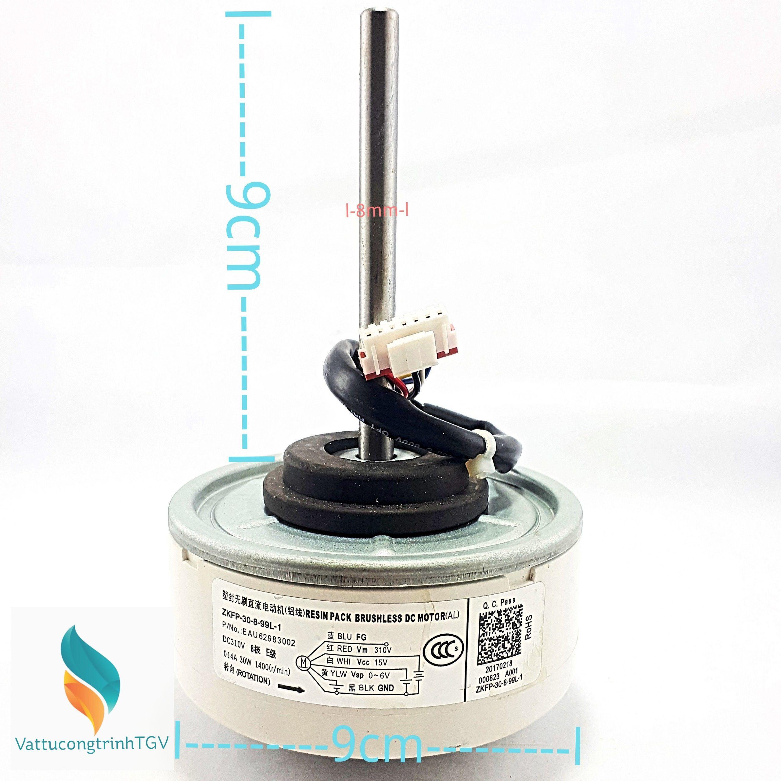 Bảng giá Motor quạt màn lạnh điều hòa LG Inverter DC310V- 30w (Thay thế) Điện máy Pico