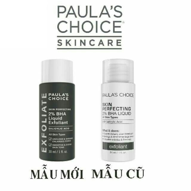Tẩy da chết hóa học Paula's Choice Skin Perfecting 2% BHA Liquid tốt nhất