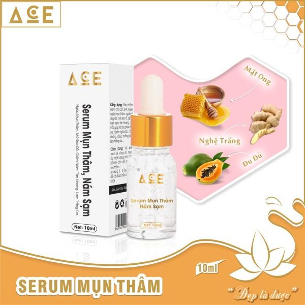Serum ngừa mụn thâm ACE làm trắng da, giảm nám sạm, tàn nhang, đồi mồi (10ml) nhập khẩu