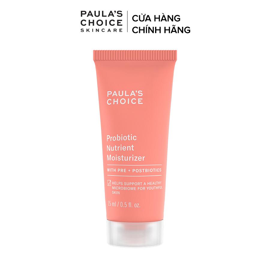 Kem dưỡng ẩm giàu lợi khuẩn tế bào Paula's Choice Probiotic Nutrient Moisturizer 15ml