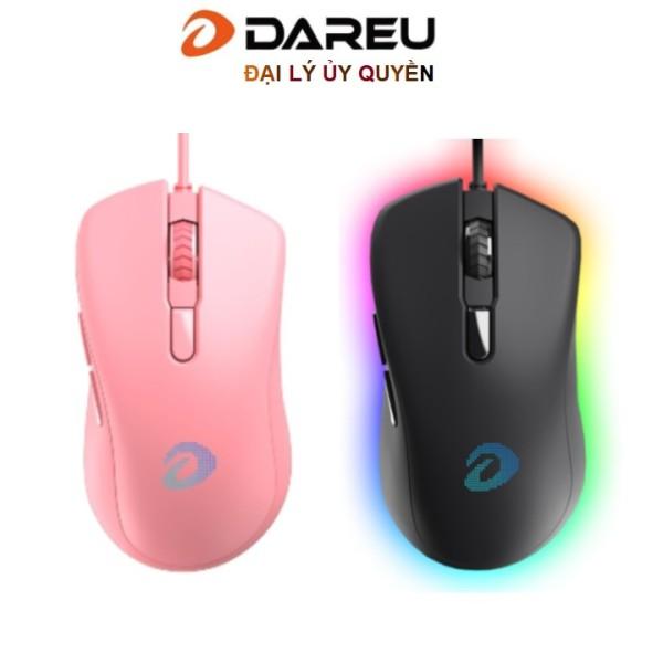 Chuột máy tính DARE-U EM908 RGB USB Black - Dareu Việt Nam