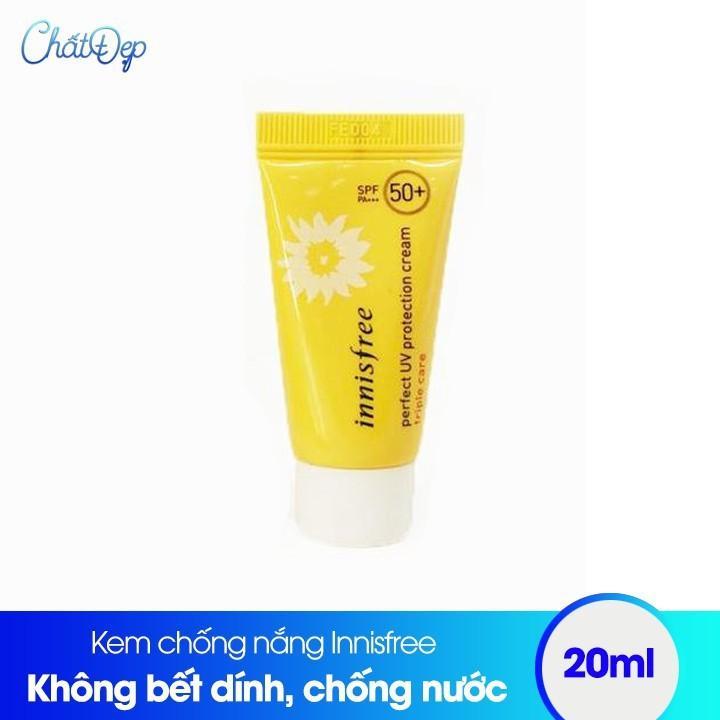 Kem chống nắng Innisfree Perfect UV Triple Care 20ml