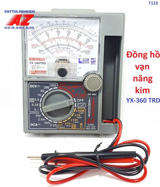 Đồng hồ đo vạn năng kim SANNUO YX-360 TRD