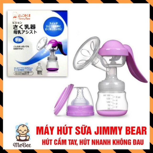 Giá Quá Tốt Để Có Máy Hút Sữa Bằng Tay Jimmy Bear Nhật
