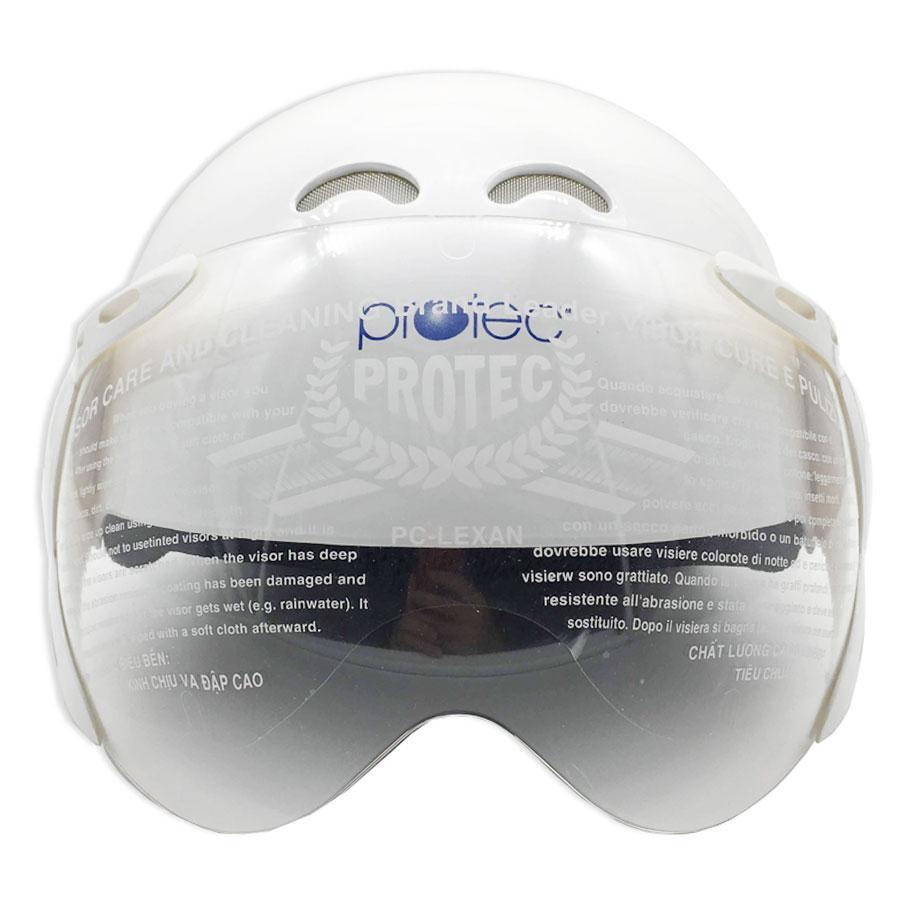 Giá bán Mũ Bảo Hiểm Trẻ Em 1/2 Đầu Có Kính Protec Kitty Họa Tiết Công Chúa