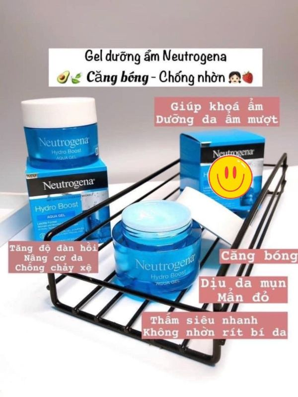 Kem Dưỡng Ẩm Neutrogena Aqua gel MẪU MỚI NHẤT CẤP NƯỚC 72H 50ML giá rẻ