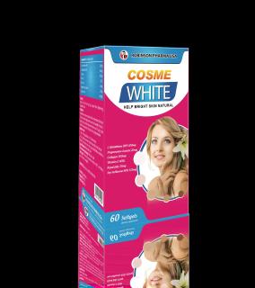COSME WHITE - Viên uống trắng da ,mờ nám, ngăn ngừa lão hóa da-chai 60 viên thumbnail