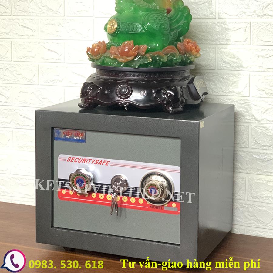 [CHINH HANG] Két Sắt Việt Tiệp VT25N- két sắt mini-40kg
