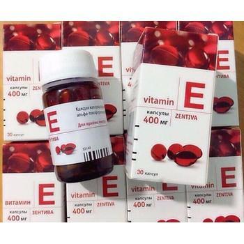 Vitamin E Zentiva 400mg Hộp 30 Viên Chính Hãng Của Nga