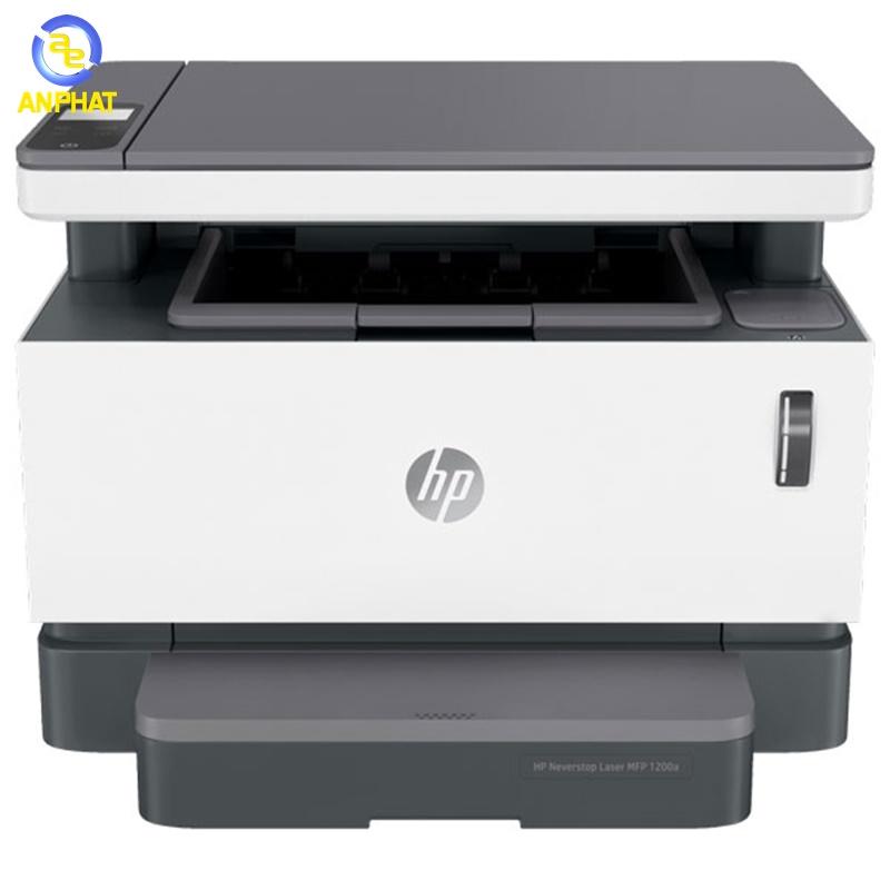 TRẢ GÓP 0% Máy  in HP Neverstop Laser MFP 1200a 4QD21A đa chức năng in sao chép quét, thời gian bảo hành sản phẩm 12 tháng