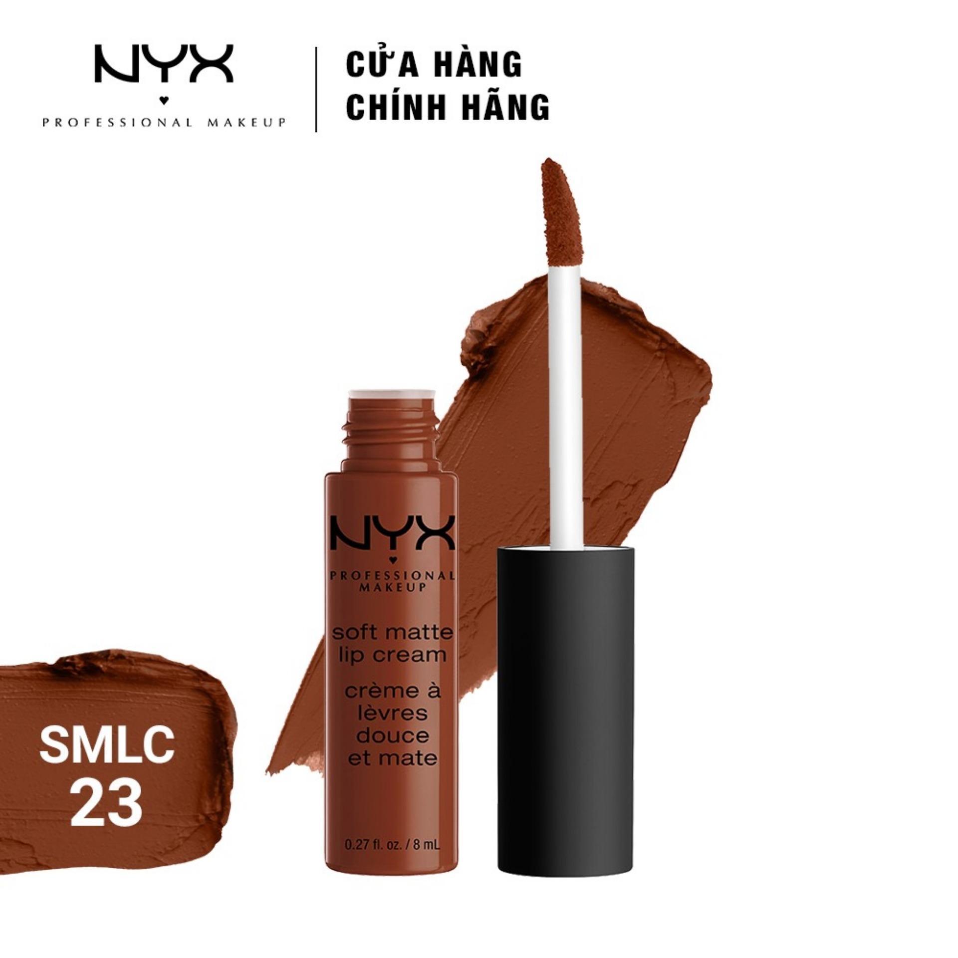 Son kem lì NYX Professional Makeup Soft Matte Lip Cream 8ml tốt nhất